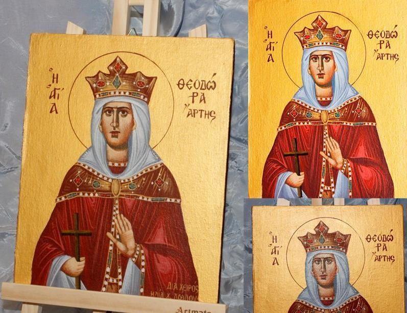 Αγία Θεοδώρα Άρτης (25x20)