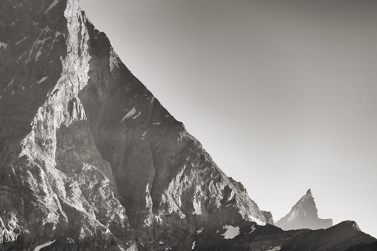 Zinalrothorn e spalla del Cervino - Matterhorn