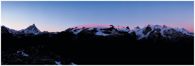 Cervino e Monte Rosa - al tramonto
