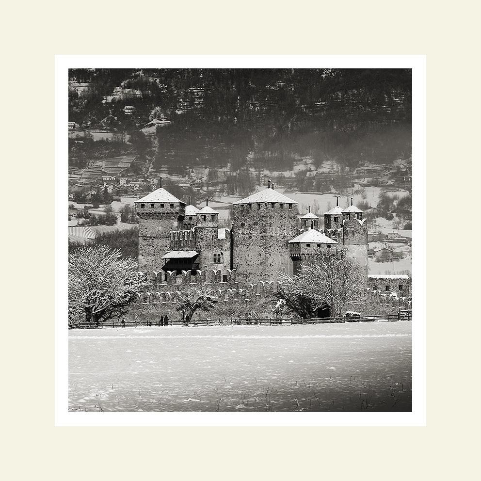 Castello di Fenis - lato sud