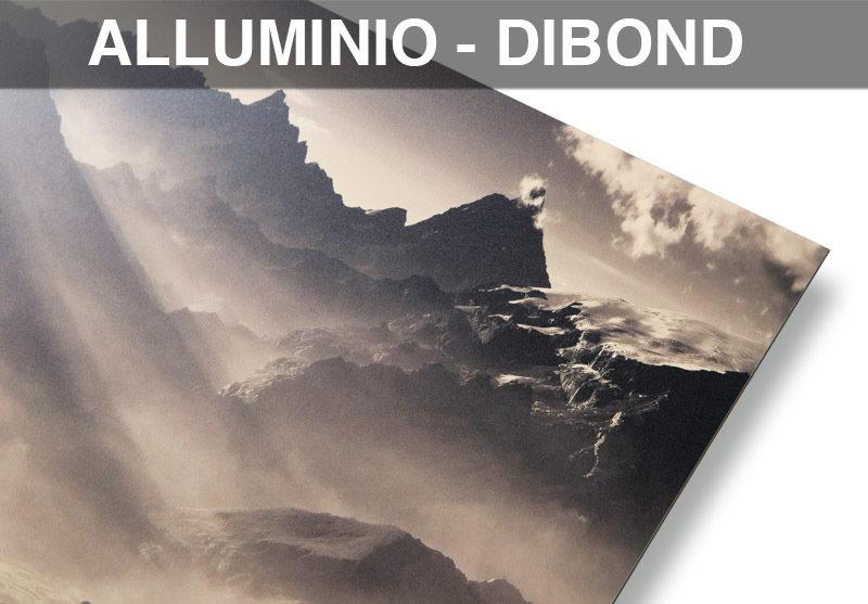 stampa su Alluminio