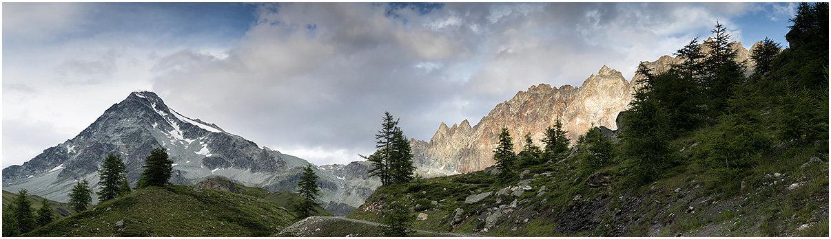 Mont Gele e Catena del Morion