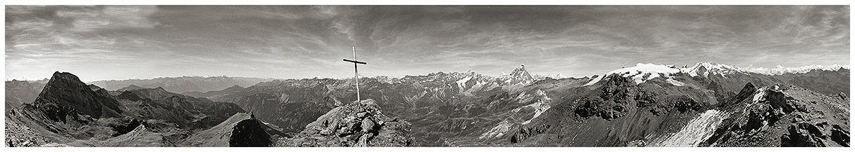 Cervino, Monte Rosa, Grand Tournalin dalla Roisetta