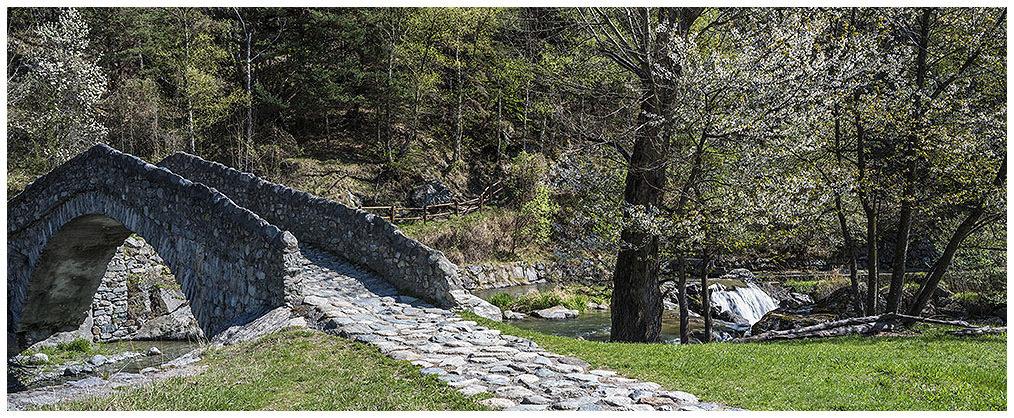 Ponti Romani di Challand Saint Victor