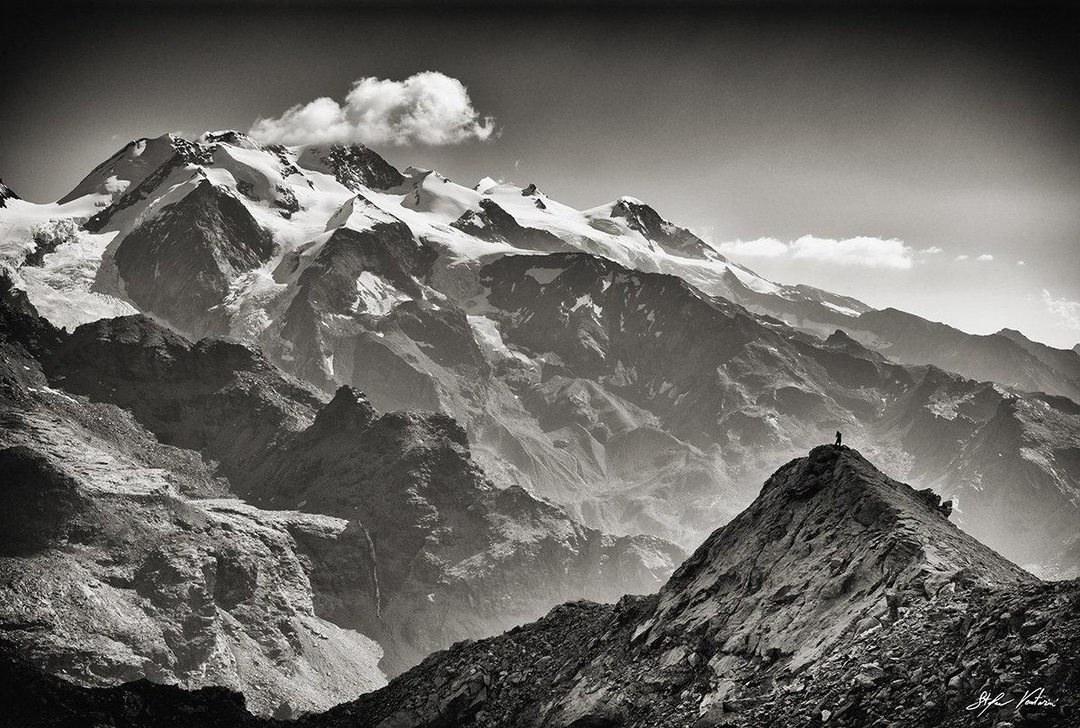 il ritiro del bianco - Monte Rosa - Valtournenche