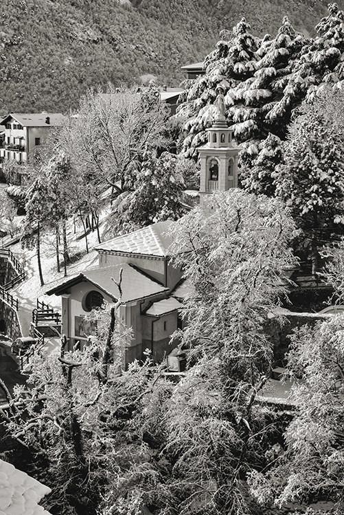 Chatillon - Madonna delle Grazie - Neve