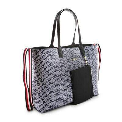 TOMMY ICONS MONOGRAM TOTE
