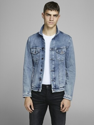 JACK&JONES JJIALVIN JJJACKET SA 002 BLUE DENIM