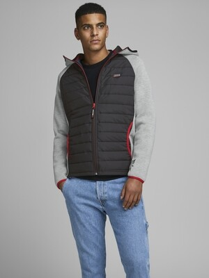 JACK&JONES JCOTOBY JACKET LIGHT GREY MELANGE