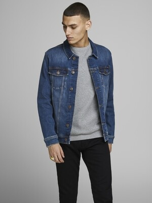 JACK&JONES JJIALVIN JJJACKET AGI 001 BLUE DENIM