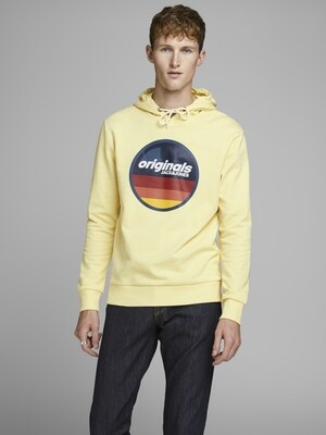 JORVENTURE SWEAT HOOD YELLOW/FLAN