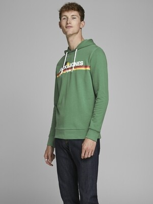 JORVENTURE SWEAT HOOD GREEN/FIR