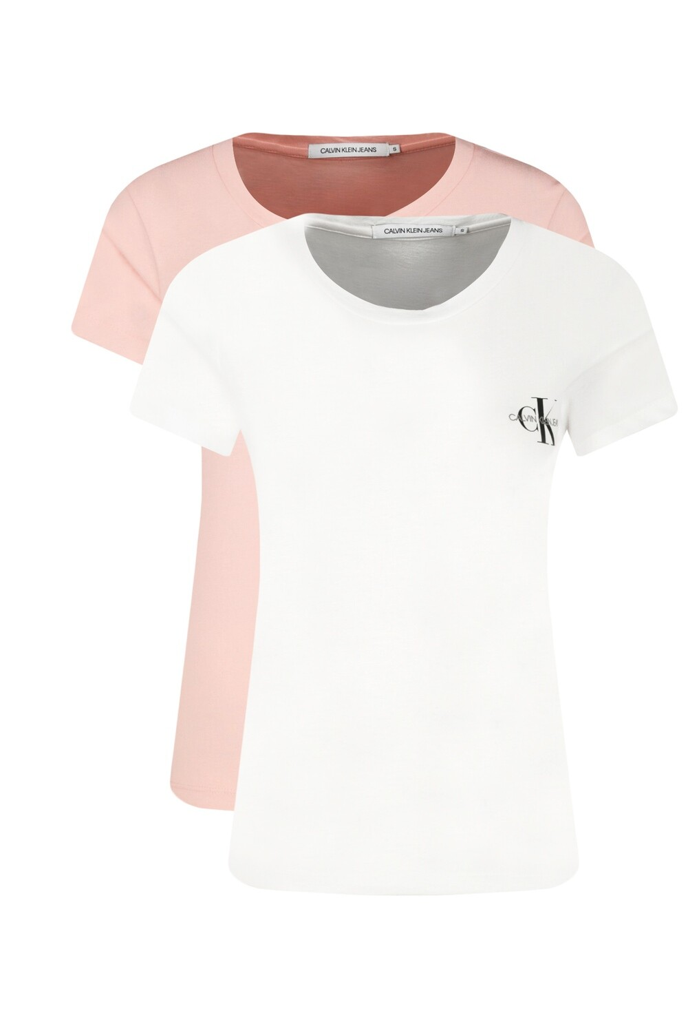 CALVIN KLEIN 2 PACK SLIM ORGANIC COTTON T-SHIRT