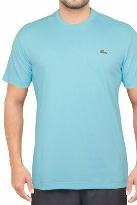 Lacoste Men's T-Shirt Monochrome with Round Neck