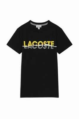 Lacoste Men's T-shirt with Logo Print