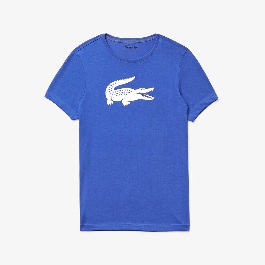 Lacoste Men's SPORT Oversized Crocodile T-Shirt