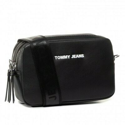 TOMMY TJW FEMME CROSSOVER PU Black