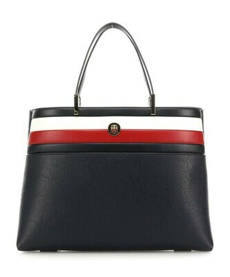 TOMMY TH CORE SATCHEL CORP Corporate Blue