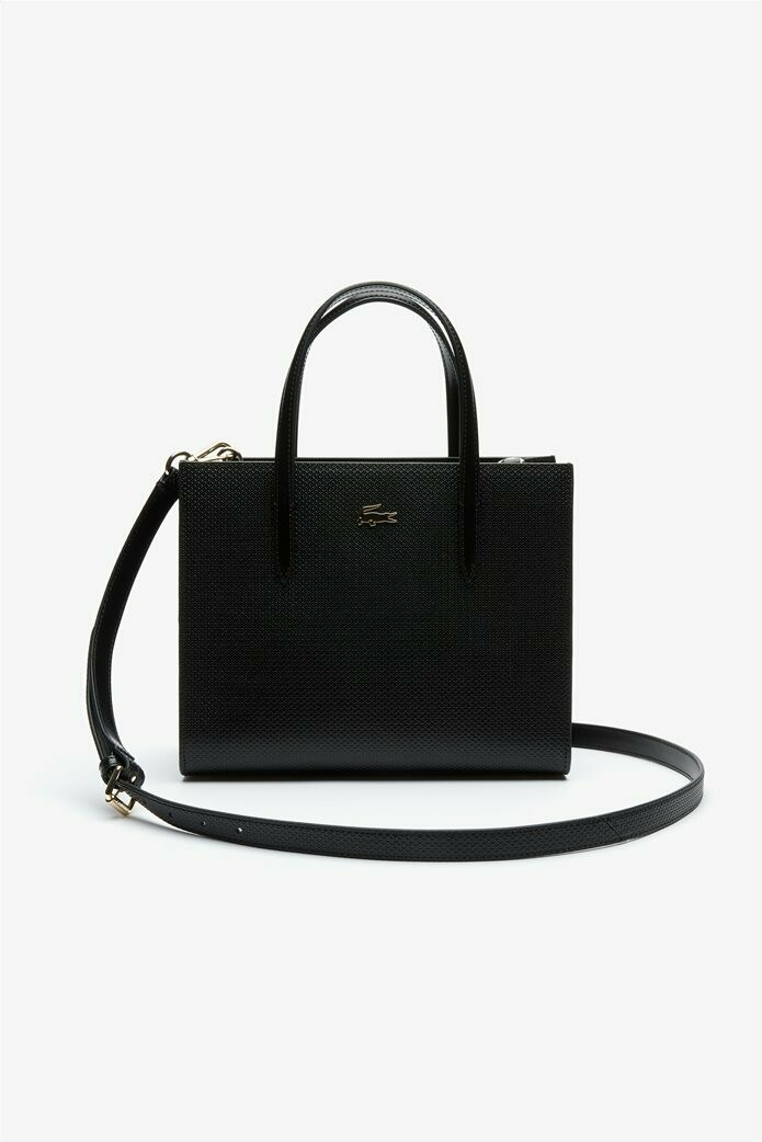 Lacoste Women's Handbag Chantaco Dual Carry Piqué