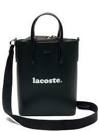 Lacoste Women's Chantaco Branded Leather Vertical Tote