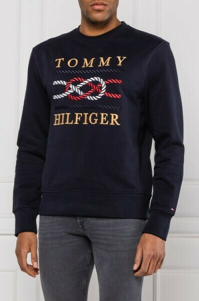 TOMMY ICON SWEATSHIRT DESERT SKY