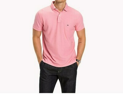 TOMMY REGULAR POLO CLASSIC PINK