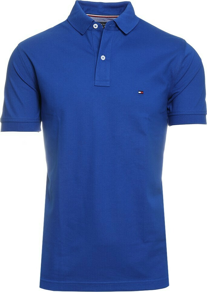 TOMMY REGULAR POLO PHTHALO BLUE