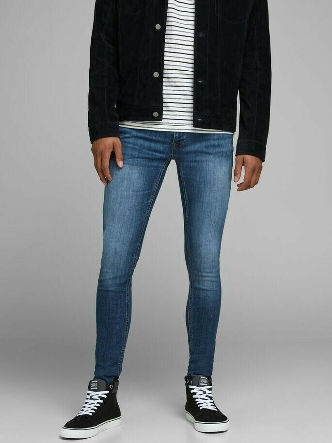 JACK&JONES JJITOM JJORIGINAL AM 814 BLUE DENIM