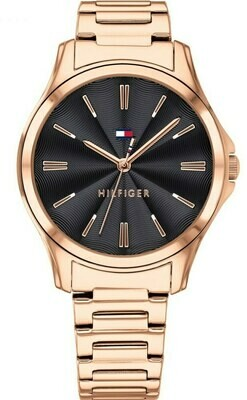 TH LORI ROSE GOLD STAINLESS STEEL WATCH