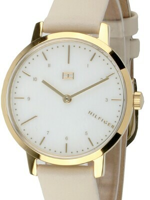 TH LILY LEATHER STRAP WATCH