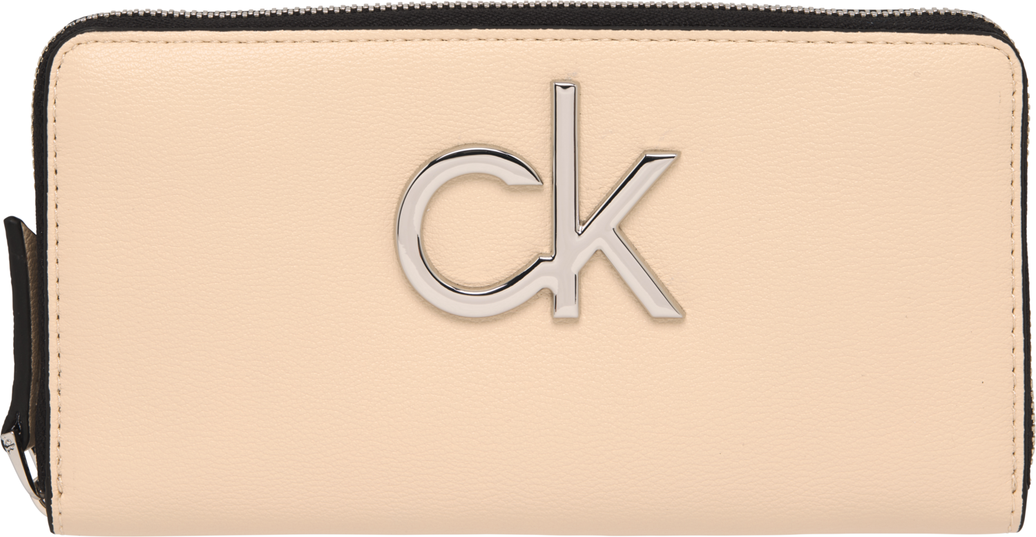 CALVIN KLEIN LARGE ZIP AROUND WALLET