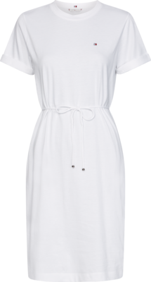 TOMMY ANGELA REGULAR C-NK DRESS SS WHITE