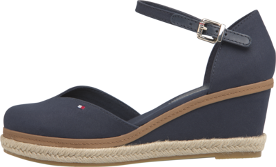 TOMMY BASIC CLOSED TOE MID WEDGE DESERT SKY