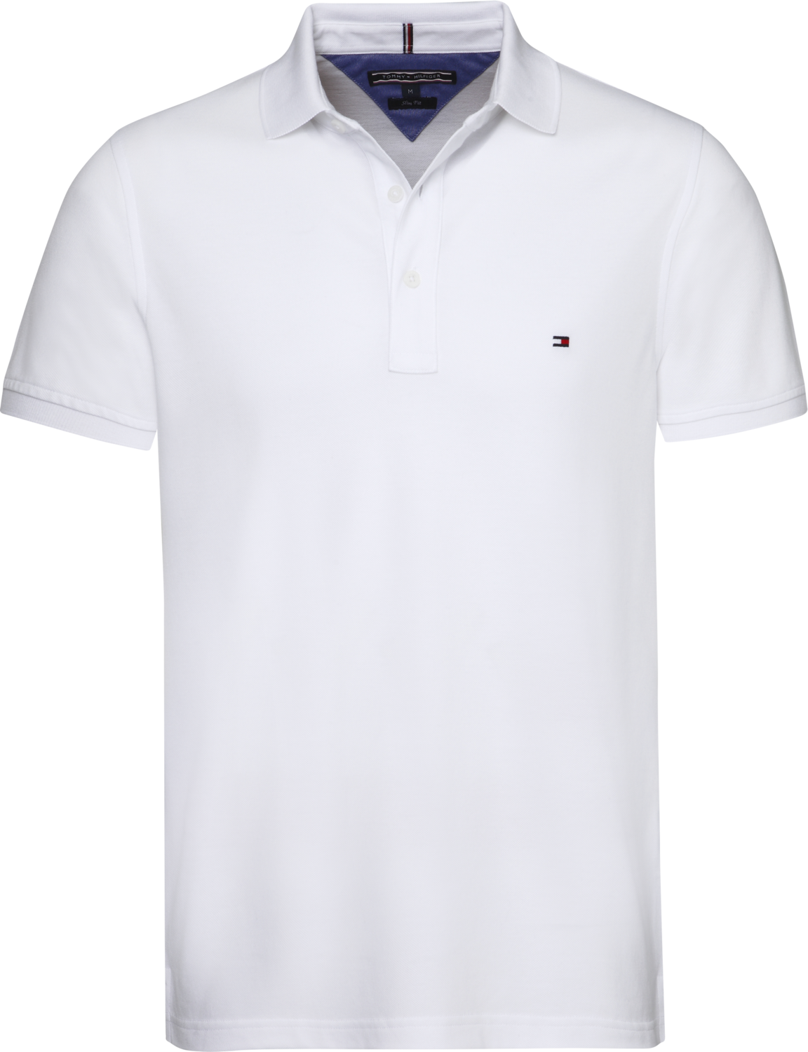 TOMMY CORE MODERN REGULAR POLO BRIGHT WHITE