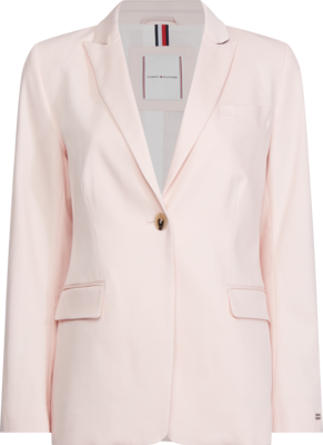 TOMMY COTTON PASTEL SB BLAZER PALE PINK