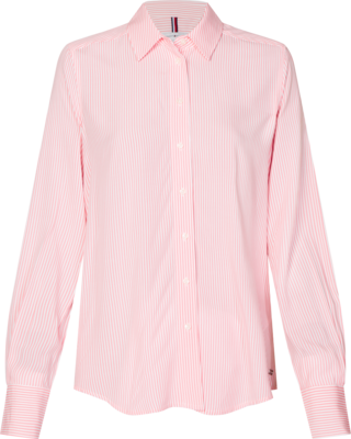 TOMMY DANEE BLOUSE LS PINK GRAPEFRUIT
