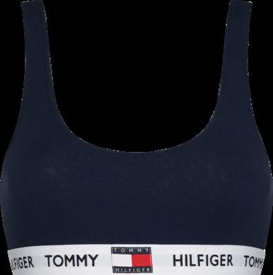 TOMMY HILFIGER LOGO UNDERBAND ORGANIC COTTON BRALETTE