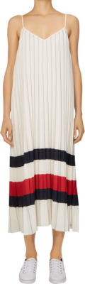 TOMMY ICON DRESS IVORY