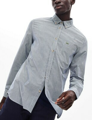 LACOSTE CHEMISE CASUAL MANCHES LO BLUE