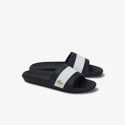 LACOSTE CROCO SLIDE 120 3 US CMA NAVY/WHITE