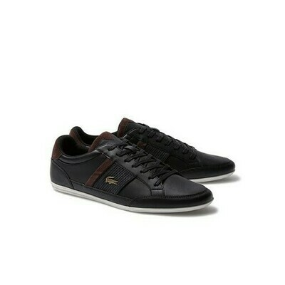LACOSTE CHAYMON 120 4 CMA BLACK/DARK BROWN