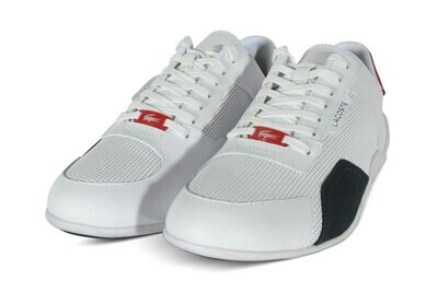 LACOSTE HAPONA 120 3 CMA WHITE/NAVY/RED