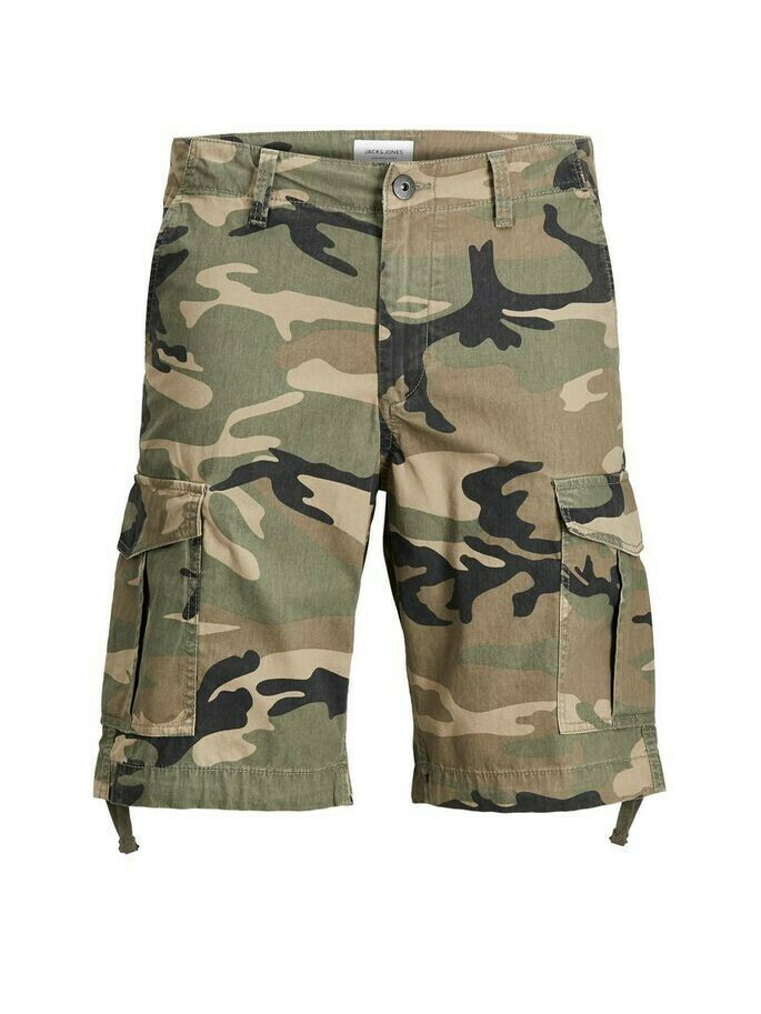JACK&JONES JJICHARLIE JJCARGO SHORTS AKM 803 GREEN EYES