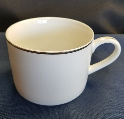 Silver Line White Coffee Cup 6 oz