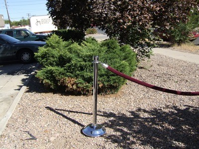 Stanchion Rope Black