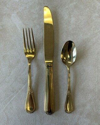 Savoy Gold Flatware (Click picture for Options)