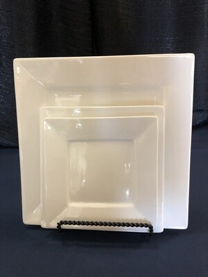Square White China (Click on picture for options)