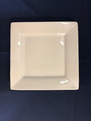 Square White Platter 12 in