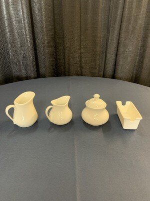 Royal White Coffee Service Items