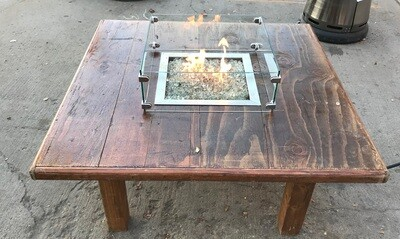 Fire pit table 40x40